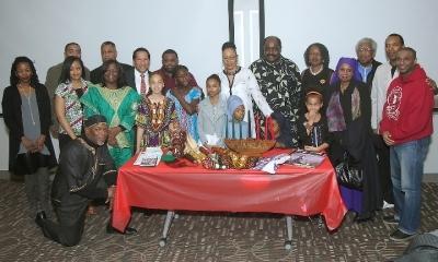Kwanzaa celebration at the UMass Center