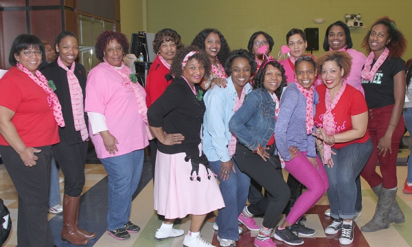 2nd Annual Pink Goes Red Dance-a-Thon