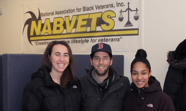 Representatives of the Boston Red Sox Attend the Springfield National Association for Black Veterans, Inc. (NABVETS) Holiday Reception