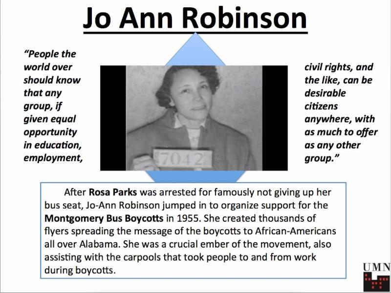 Jo Ann Robinson