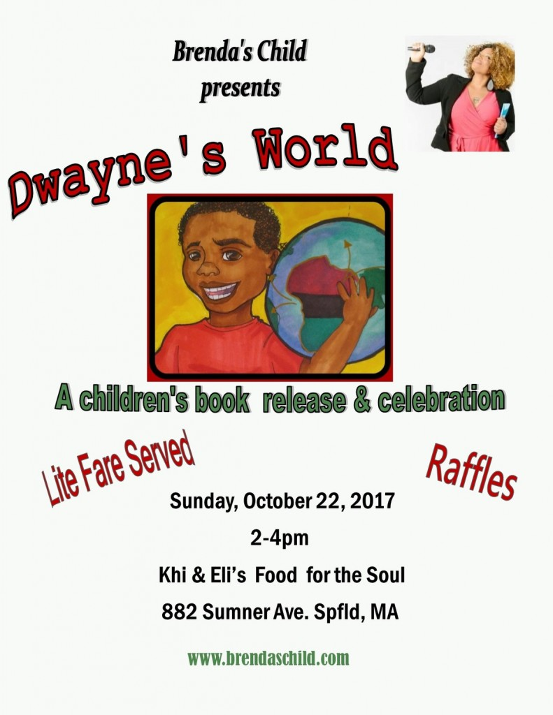A Children's Book Release and Celebration @ Khi and Eli's Food For the Soul | Springfield | Massachusetts | United States