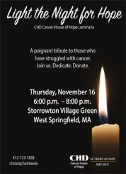 Light the Night for Hope @ Storrowton Village Green | West Springfield | Massachusetts | United States
