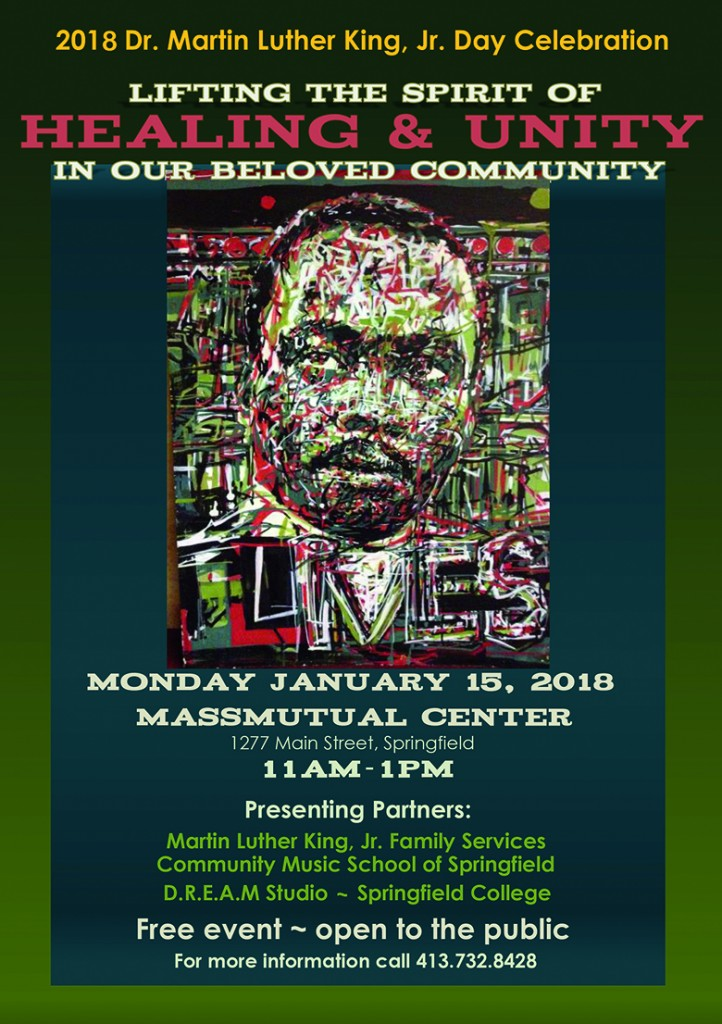 2018 Annual Dr. King Day Celebration @ MassMutual Center | Springfield | Massachusetts | United States